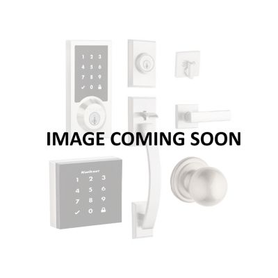 Milan and Deadbolt Interior Pack (Round) - Deadbolt Keyed Both Sides - featuring SmartKey - for Signature Series 801 Handlesets