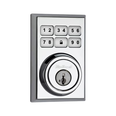 SmartCode Deadbolt Contemporary Polished Chrome