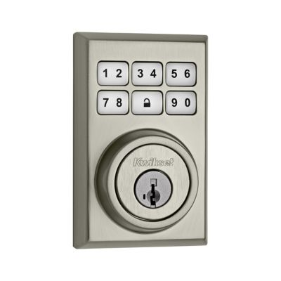 SmartCode Deadbolt Contemporary Satin Nickel