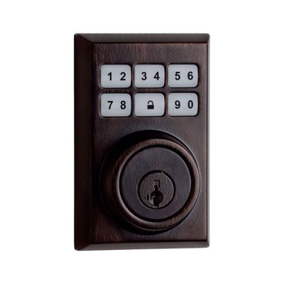 SmartCode Deadbolt Contemporary Venetian Bronze