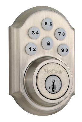 SmartCode Deadbolt Satin Nickel