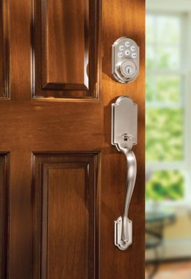 SmartCode Deadbolt Satin Nickel Vignette