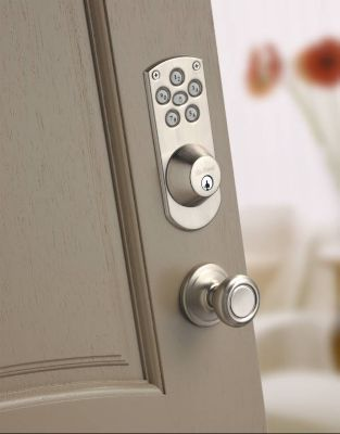 SmartCode Satin Nickel Vignette