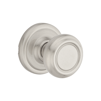 Cameron Knob - Satin Nickel Finish with Microban