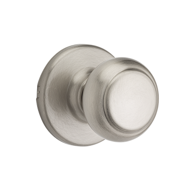Cove Knob - Satin Nickel Finish with Microban