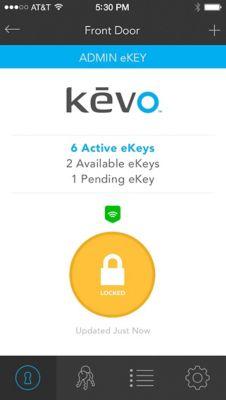 Kevo Plus iOS Locked