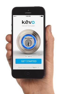 Kevo iPhone in Hand