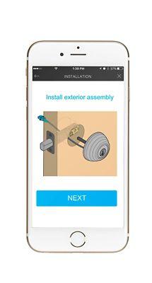 Kevo 2nd Gen App Installation