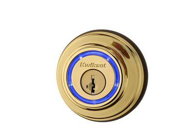 Kevo 2nd Gen Polished Brass