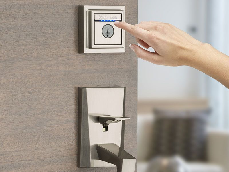 The latest finger touch, Bluetooth-enabled smart lock