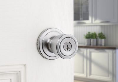 Knob Keyed Entry