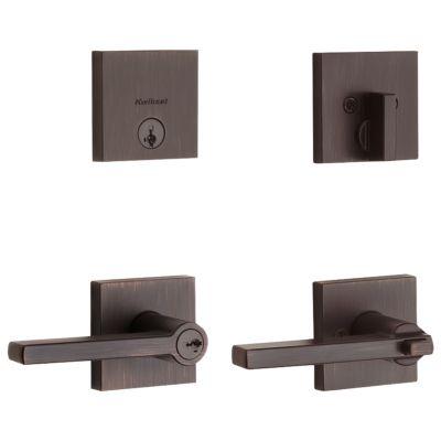 Image for Halifax Security Set (Square) - Deadbolt Keyed One Side