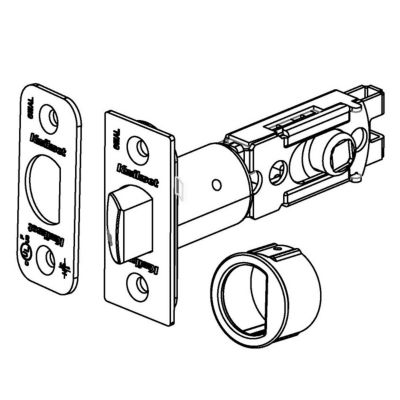 83480 - 6AL Adjustable Square Drive Latch
