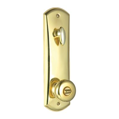 Image for Metal Interconnect - 780 Deadbolt with Hancock Keyed Knob - featuring SmartKey