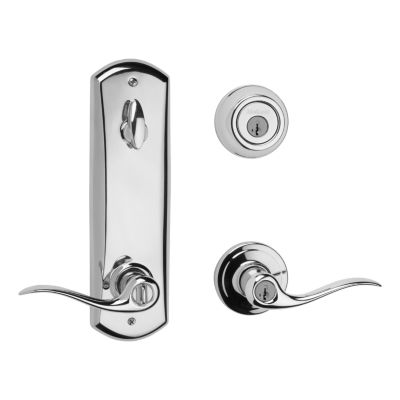 Image for Metal Interconnect - 780 Deadbolt with Tustin Keyed Lever - featuring SmartKey