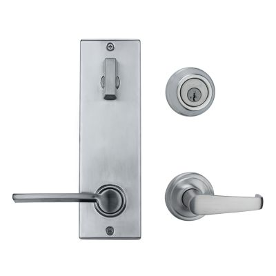Metal Interconnect Levers - 780 Deadbolt with Kingston and Ladera Passage Lever