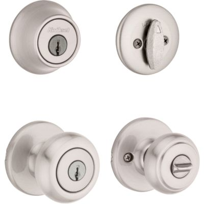 Image for Cove Security Set - Deadbolt Keyed One Side - with Pin & Tumbler