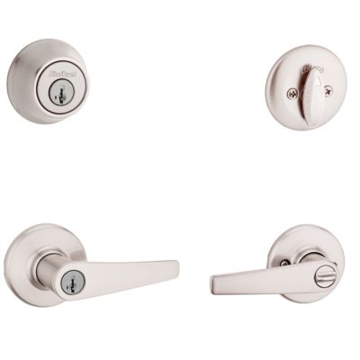 Delta Security Set - Deadbolt Keyed One Side - featuring SmartKey