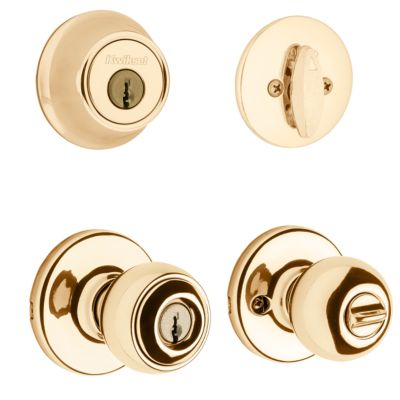 Polo Security Set - Deadbolt Keyed One Side - with Pin & Tumbler