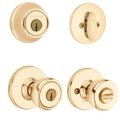 Tylo Security Set - Deadbolt Keyed One Side - featuring SmartKey
