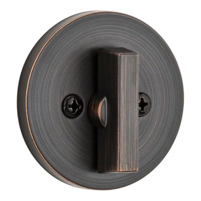 Image for 663 Contemporary Round One Sided Deadbolt - Thumb Turn Only