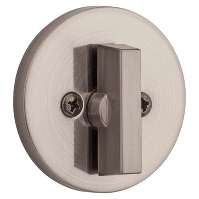 663 Contemporary One Sided Deadbolt - Thumb Turn Only