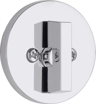 663 Contemporary Round One Sided Deadbolt - Thumb Turn Only