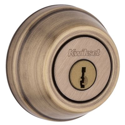 780 Deadbolt - Keyed One Side - with Pin & Tumbler