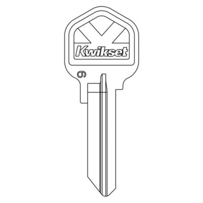 81208 - Kwikset 6 Pin Extra Random Cut Keys
