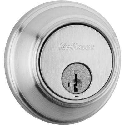 Key Control Deadbolt - Keyed One Side - featuring SmartKey