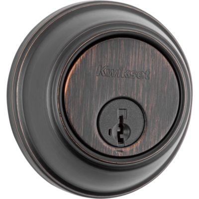 Key Control Deadbolt - UL - Keyed One Side - featuring SmartKey