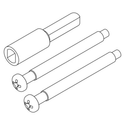 Image for 81706 - Thick Door Conversion Screw Pack