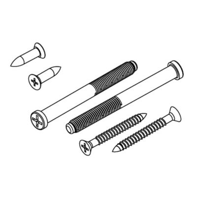 Image for 820286 - Deadbolt Screw Pack