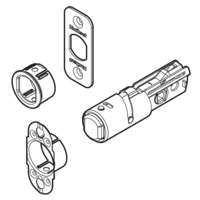 Image for 83002 - 4AL Deadbolt Adjustable Latch