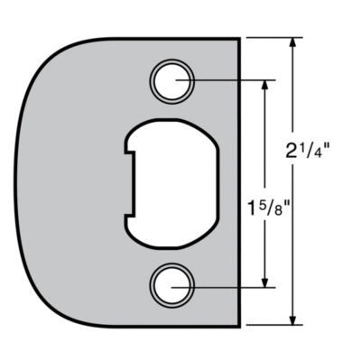 Image for 83030 - Plainlatch and Deadlatch Strike UL
