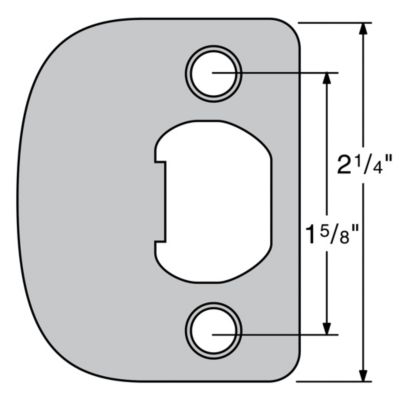 Image for 83031 - Plainlatch and Deadlatch Strike UL