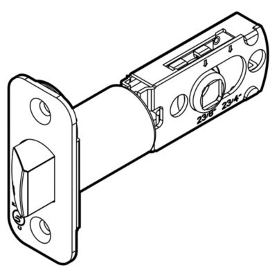 83518 - RCAL Adjustable Square Drive UL 3 hour Latch