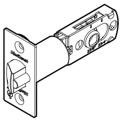 83522 - WFAL Adjustable Square Drive UL 3 hour Latch