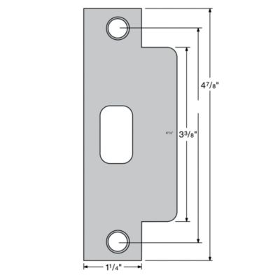 Image for 83846 - Plainlatch and Deadlatch Strike
