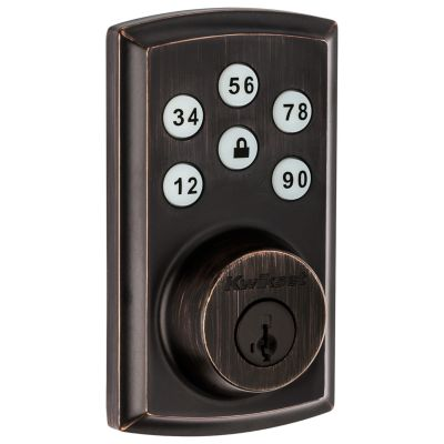 Image for 888 SmartCode Electronic Deadbolt with Z-Wave Technology