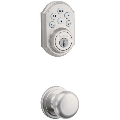 Image for 909 Smartcode Traditional Electronic Deadbolt with Hancock Knob