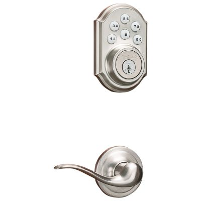 909 Smartcode Traditional Electronic Deadbolt with Tustin Lever