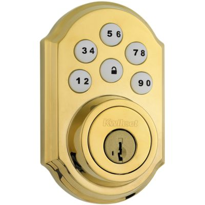 Image for 910 SmartCode Traditional Electronic Deadbolt with Zigbee Technology