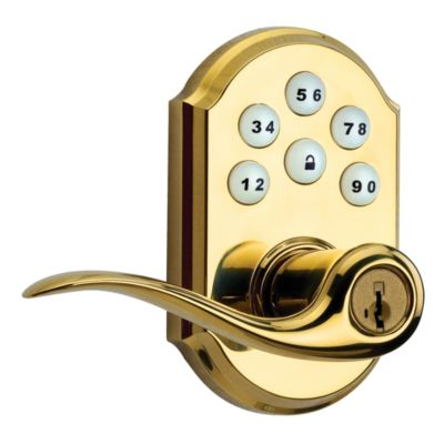 912 SmartCode Electronic Tustin Lever with Z-Wave Technology