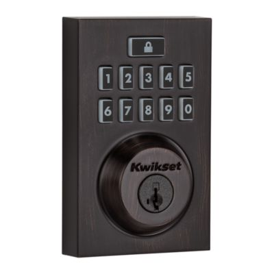 914 SmartCode Contemporary Electronic Deadbolt with Z-Wave Technology