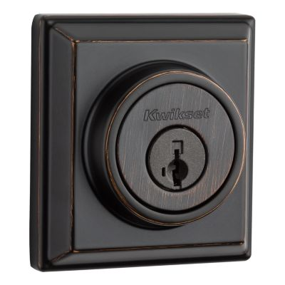 Signature Series Deadbolt (Square) with Home Connect with Z-Wave 500 Technology