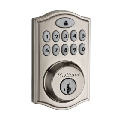 914 SmartCode Traditional Electronic Deadbolt with Zigbee Technology