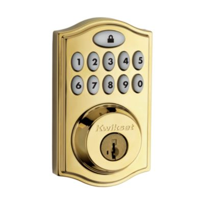 Image for 914 SmartCode Traditional Electronic Deadbolt with Zigbee Technology