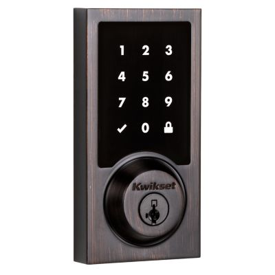 916 Smartcode Contemporary Electronic Deadbolt with Z-Wave Technology