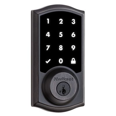 916 SmartCode Traditional Electronic Deadbolt with Z-Wave Technology